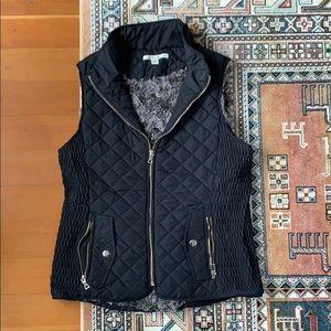 Black Fall Vest